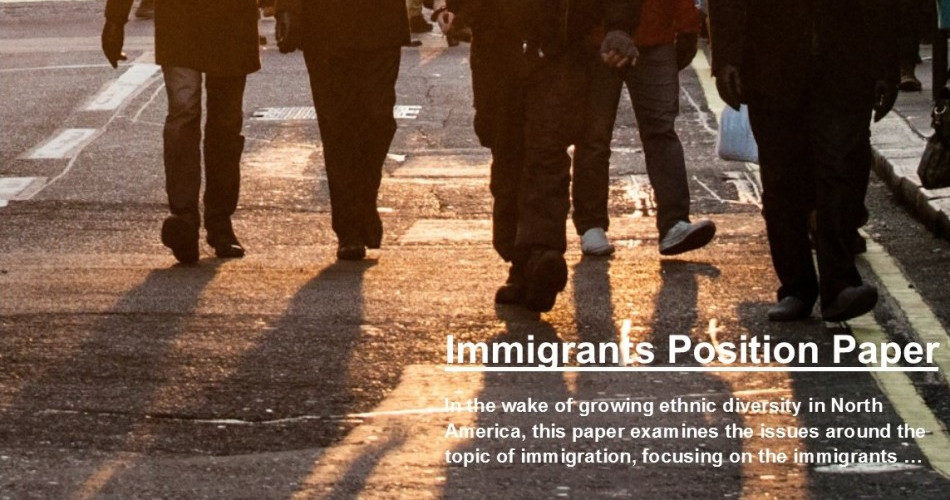 Immigrants Position Paper
